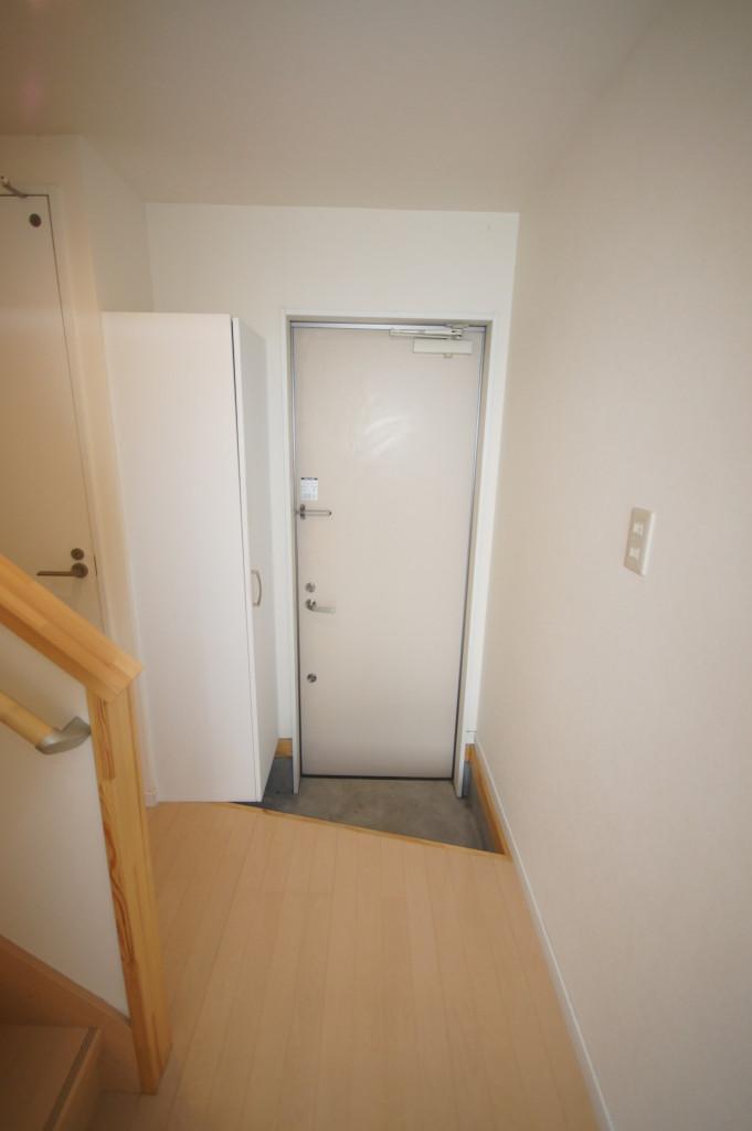スッキリとした玄関(玄関)