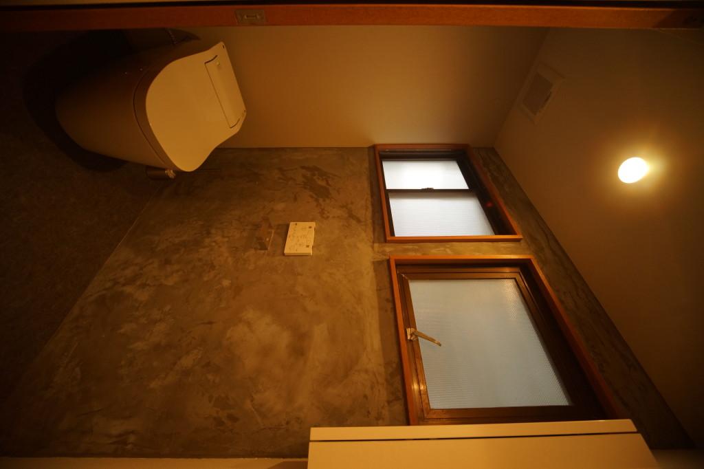 タンクレスの最新ウォシュレット付きトイレ