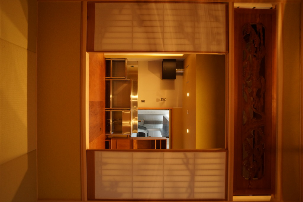 和室から観るLDKの風景(内装)