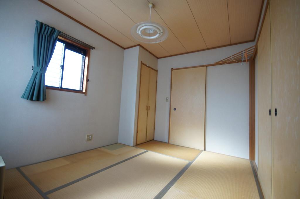 1F、和室