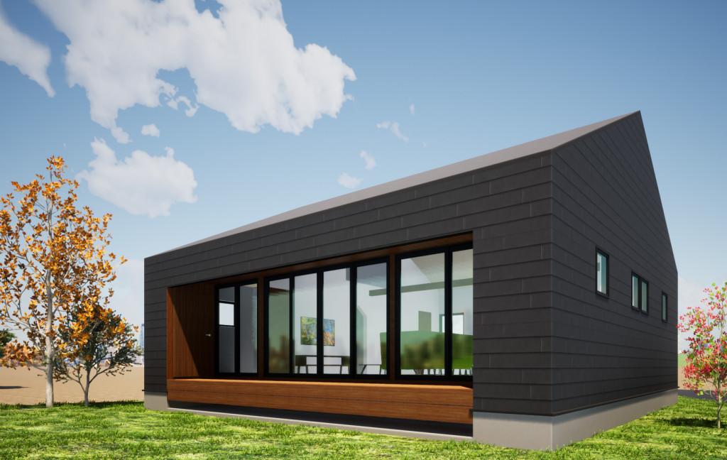 EN HOUSEの建築イメージです(外観)